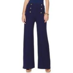 Lauren by Ralph Lauren Highrise Sailor Pants NWOT